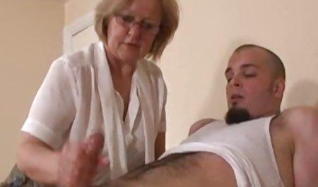 그는(빈티지 1950 년대)는 성 돈을 위해 체코 데 도움이 소녀 fuck