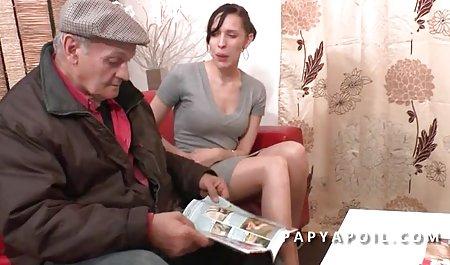 여자,딜,큰 Czechoslovakian 르 가슴